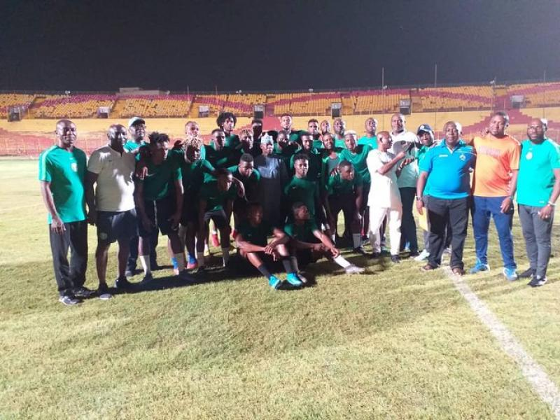 AFCON U23 qualifiers: Eagles commended ahead of return leg